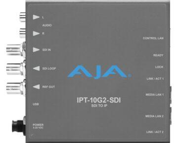 Aja IPT-10G2-SDI Mini Converter [ SDI to SMPTE ST 2110 ]