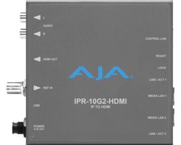 Aja IPR-10G2-HDMI Mini Converter [ SMPTE 2110 to HDMI ]