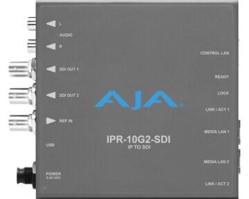 Aja IPR-10G2-SDI Mini Converter [ SMPTE 2110 to SDI ]