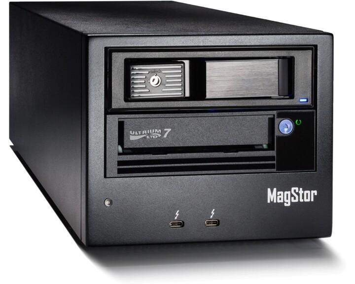 MagStor LTO-7 drive [ Thunderbolt 3 ]