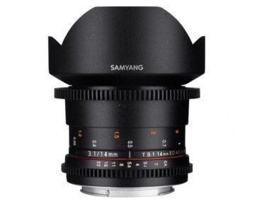 Samyang 14mm T3.1 VDSLR ED AS IF UMC II [ Canon EF ]