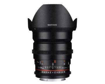 Samyang 24mm T1.5 VDSLR ED AS IF UMC II [ Canon EF ]