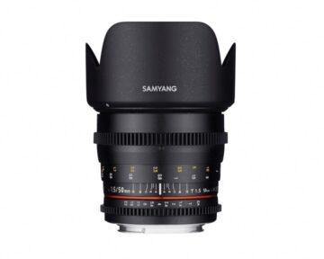 Samyang 50mm T1.5 VDSLR AS UMC [ Canon EF ]