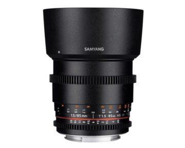 Samyang 85mm T1.5 VDSLR AS IF UMC II [ Canon EF ]