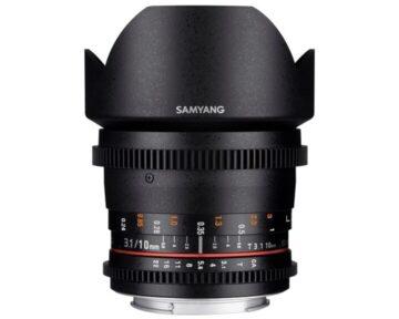 Samyang 10mm T3.1 VDSLR ED AS NCS CS [ MFT ]