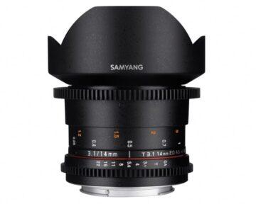 Samyang 14mm T3.1 VDSLR ED AS IF UMC II [ MFT ]