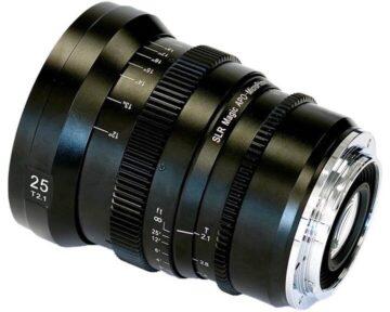 SLR Magic APO-MicroPrime CINE [ 25mm T2.1 EF Mount ]