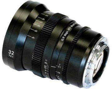 SLR Magic APO-MicroPrime CINE [ 32mm T2.1 EF Mount ]