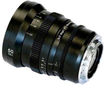 SLR Magic APO-MicroPrime CINE [ 50mm T2.1 EF Mount ]