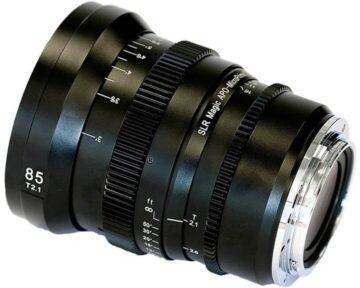 SLR Magic APO-MicroPrime CINE [ 85mm T2.1 EF Mount ]