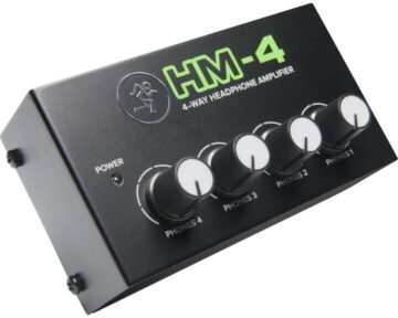 Mackie HM4 headphones amplifier [ 4 kanaals ]
