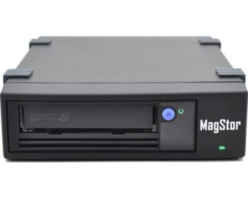 MagStor LTO-8 drive desktop [ 8Gb Fibre Channel ]
