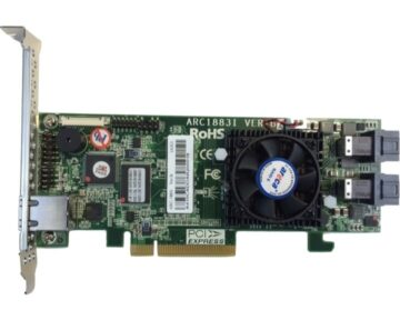 Areca 1883i PCIe RAID controller [ 12Gb SAS/SATA ]