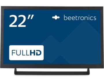 "Beetronics 22"" Monitor Metaal 22HD7M [ HDMI VGA Composite ]"