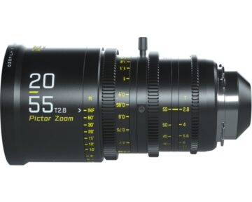 DZOFILM Pictor Zoom 20-55mm T2.8 Black [ EF & PL ]