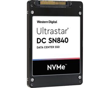 WD Ultrastar DC SN840 3,84TB SSD [ NVMe U.2 ]