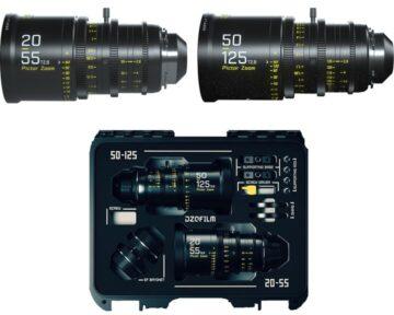 DZOFILM Pictor Zoom Bundle 20-55mm & 50-125mm T2.8 Black [ EF & PL met case ]