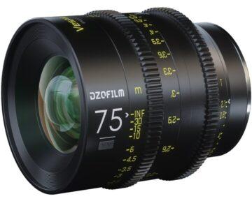DZOFILM Vespid Prime Full Frame 75mm T2.1 [ EF ]