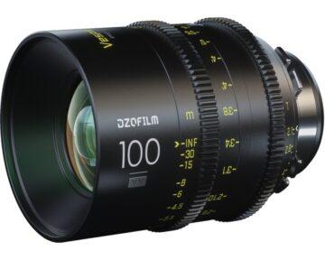 DZOFILM Vespid Prime Full Frame 100mm T2.1 [ PL ]
