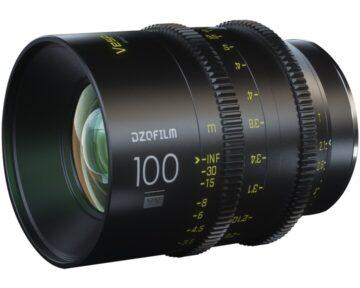 DZOFILM Vespid Prime Full Frame 100mm T2.1 [ EF ]
