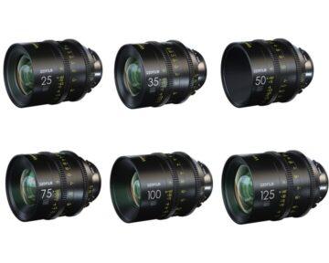 DZOFILM Vespid Prime Full Frame Kit 25, 35, 50, 75, 100, 125mm T2.1 [ PL ]