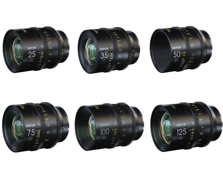 DZOFILM Vespid Prime Full Frame Kit 25, 35, 50, 75, 100, 125mm T2.1 [ EF ]