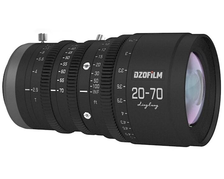 DZOFILM LingLung Zoom 20-70mm T2.9 [ MFT ]