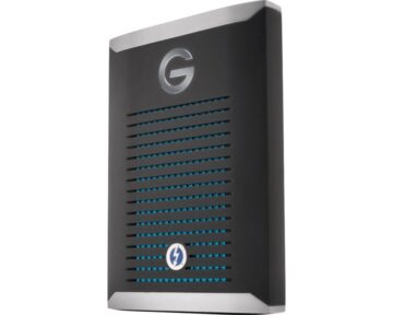 G-Technology G-DRIVE mobile Pro SSD 500GB [ Thunderbolt 3 ]