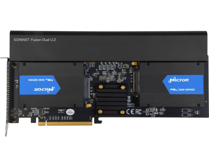 Sonnet Fusion Dual U.2 SSD [ PCIe ]