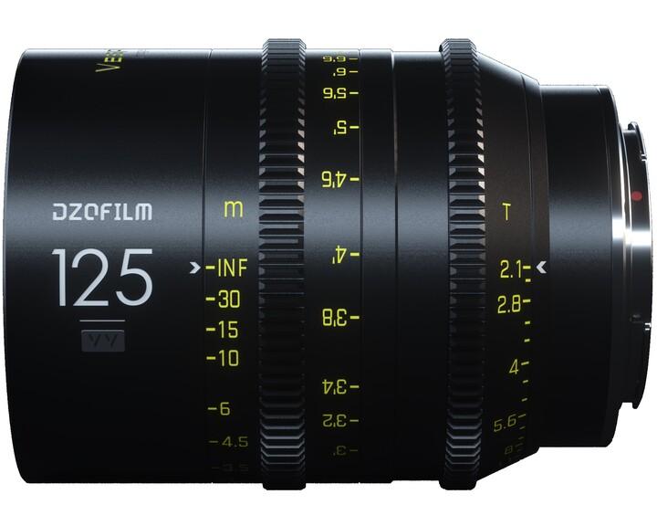 DZOFILM Vespid Prime Full Frame 125mm T2.1 [ EF ]