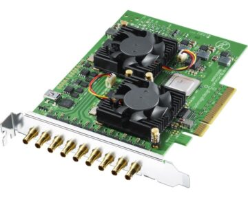 Blackmagic Design DeckLink Quad 2 [ 8 SDI in/out ]