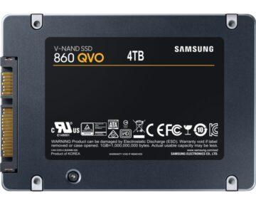 Samsung SSD 870 QVO [ 4TB ]