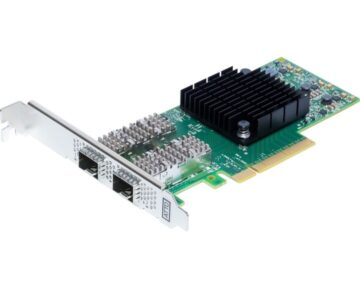ATTO FastFrame N322 Optical Ethernet Card [ Dual 10/25GbE PCIe ]