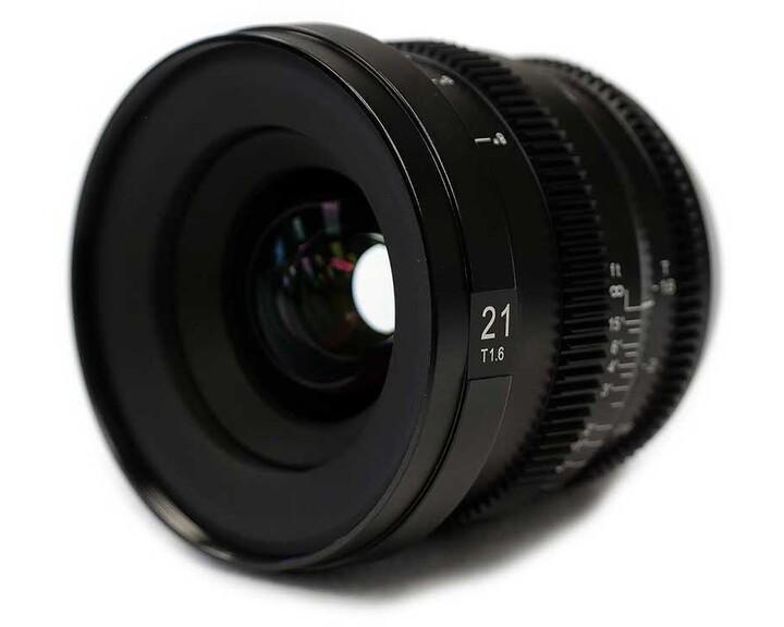 SLR Magic MicroPrime CINE 2116MFT [ MFT 21mm T1.6 ]