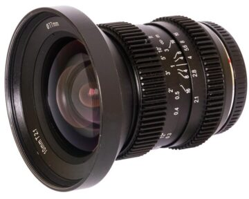 SLR Magic HyperPrime CINE 1021MFT [ MFT 10mm T2.1 ]