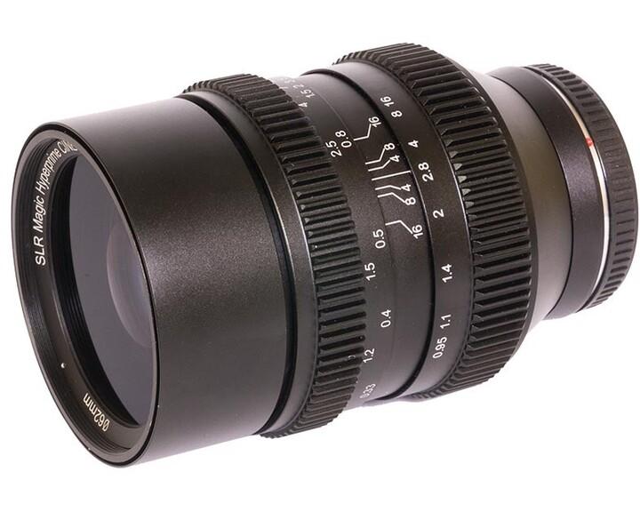 SLR Magic HyperPrime CINE II 3595MFT [ MFT 35mm T0.95 ]