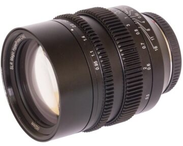 SLR Magic HyperPrime Cine 5095MFT [ MFT 50mm T0.95 Lens ]