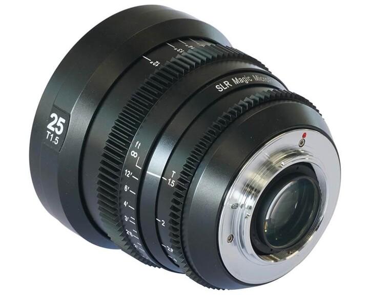SLR Magic MicroPrime CINE 2515MFT [ MFT 25mm T1.5 ]