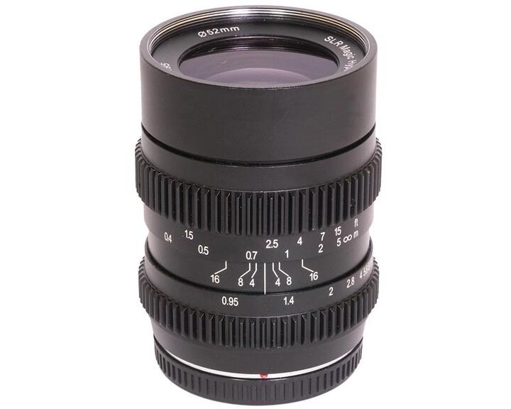 SLR Magic HyperPrime CINE III 2595MFT [ MFT 25mm T0.95 ]