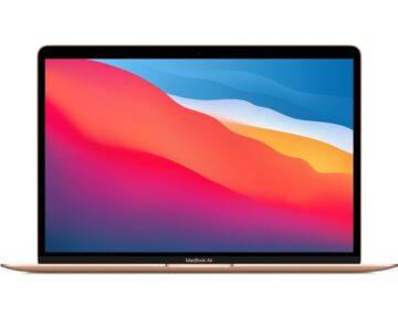 """Apple MacBook Air 13"""" M1 8‑core CPU en 8‑core GPU [ Gold ]"""