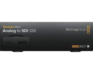 Blackmagic Design Teranex Mini - Analog to SDI 12G.