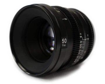 SLR Magic MicroPrime CINE 5014MFT [ MFT 50mm T1.4 ]