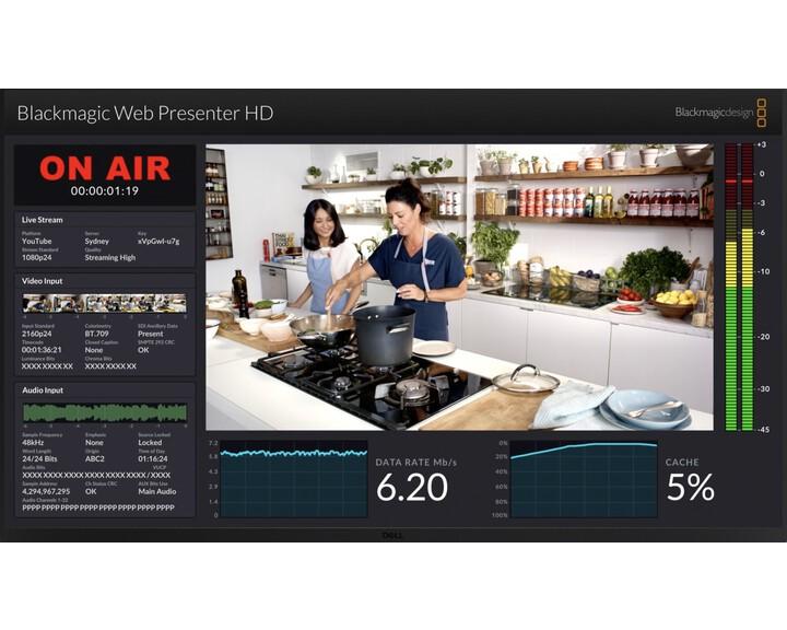 Blackmagic Design Blackmagic Web Presenter HD