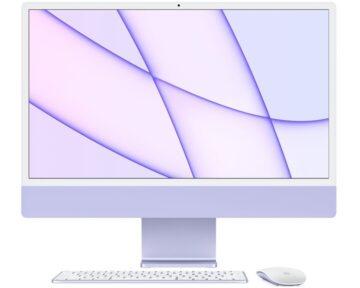 """Apple iMac 24"""" M1 8-core CPU en 8-core GPU [ 8GB 256GB Purple ]"""