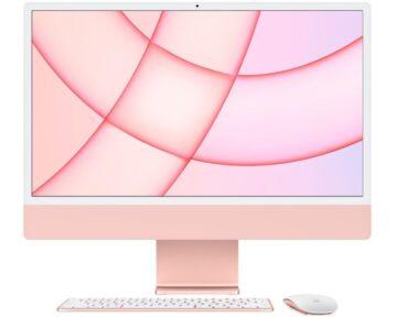 """Apple iMac 24"""" M1 8-core CPU en 8-core GPU [ 8GB 512GB Pink ]"""