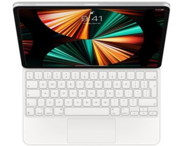 "Apple Magic Keyboard White Engels (VS) [ 12,9"" iPad Pro ]"