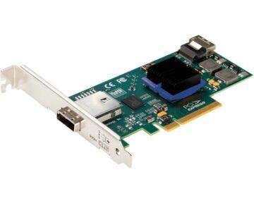 ATTO ExpressSAS H644 [ PCIe 6Gb 4x internal & external Mini SAS ]