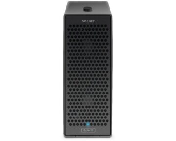 Sonnet Echo III Desktop Thunderbolt 3 Expansion Chassis [ 3 Full Length PCIe ]