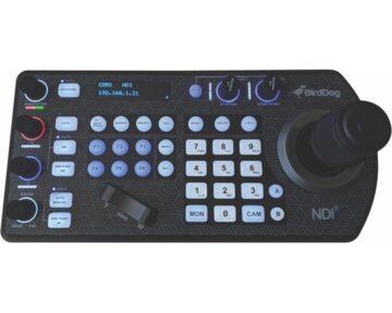BirdDog PTZ Keyboard [ NDI | Visca over IP | Serial ]