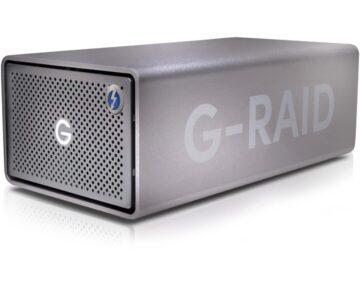SanDisk Professional G-RAID 2 24TB [ Thunderbolt 3 | USB-C | HDMI ]